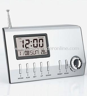 Clock FM Radio