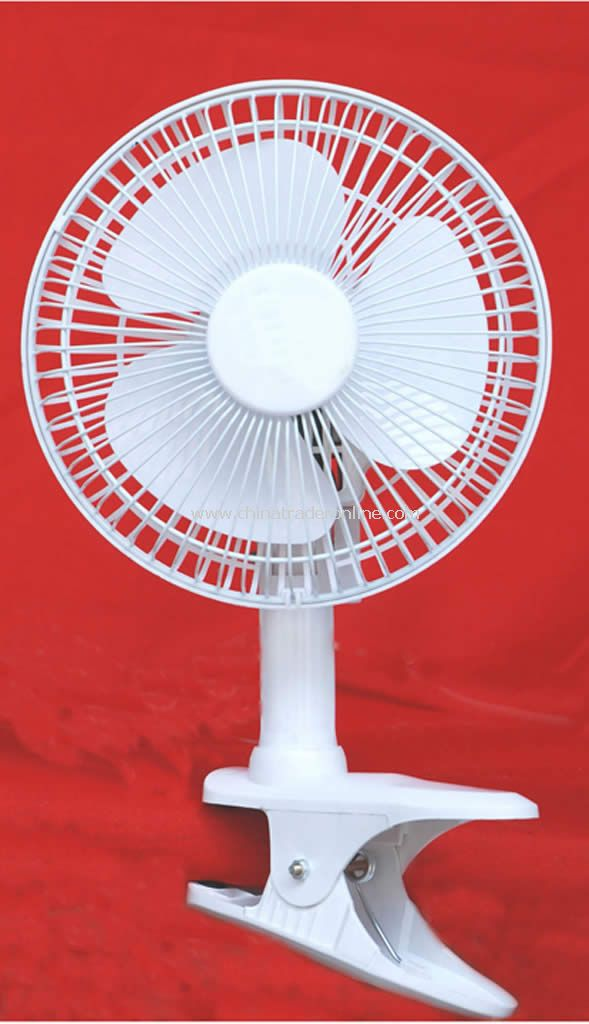 2 In 1 Mini Clip Desk Electric Fan