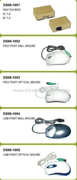 USB Port Ball Mouse