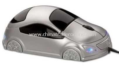 Car Shape Optical Mouse