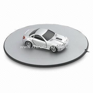 Car-Shaped Battery-Free Mouse