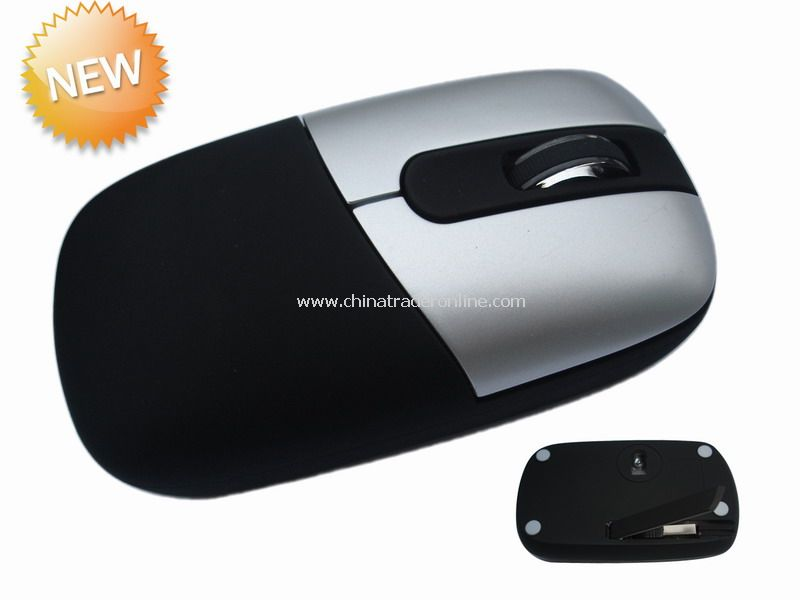 Optical Mouse with Hidden Cable