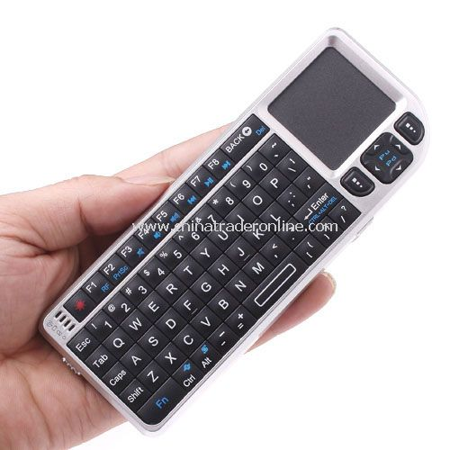 2.4G Ultra Mini Wireless Keyboard with Touchpad