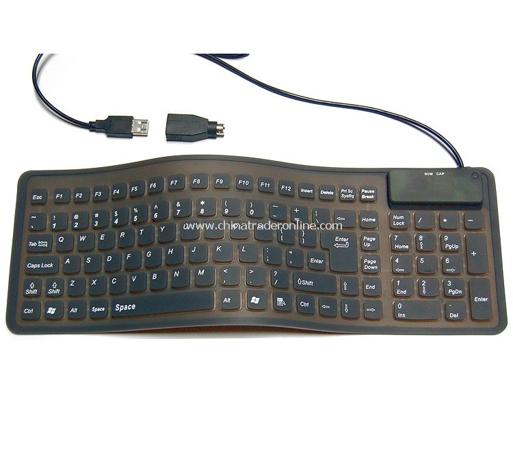 Silicon & Flexible Wired Keyboard