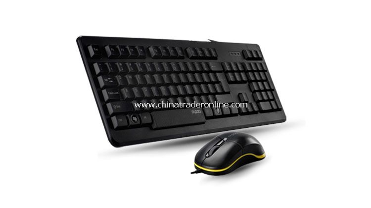 Wired Keyboard And Mice Set