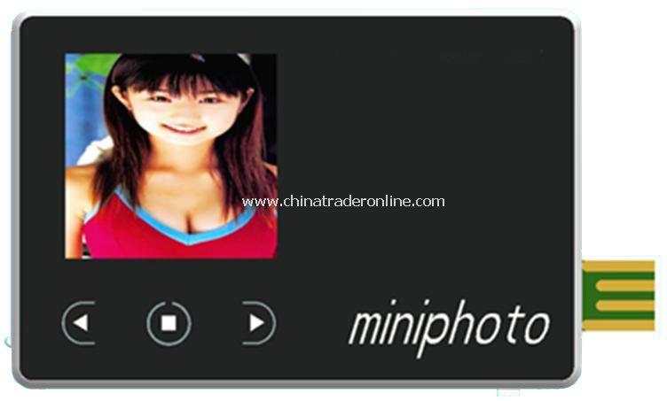 1.5 8GB Slim Design Digital Photo Frame