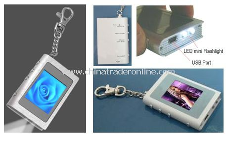 1.8 LED Digital Photo Keychain