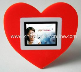 heart shape 2.4  Digital Photo Frame