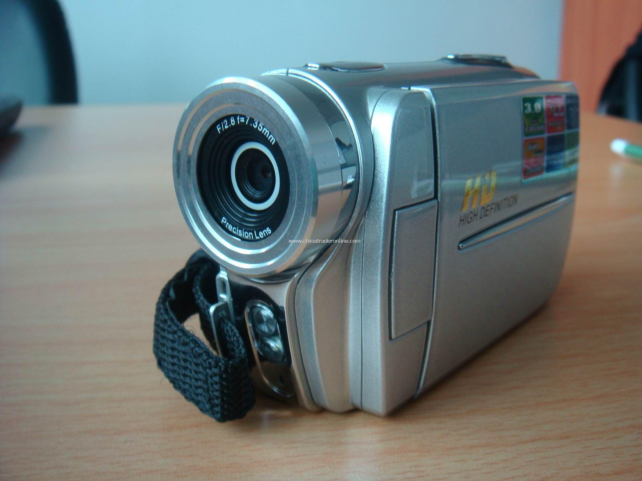 HD Digital Camera, 3.0-Inch TFT Display