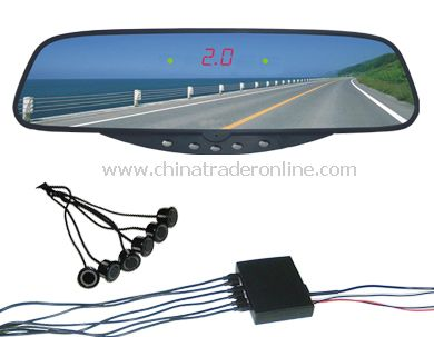 Bluetooth Rear View Mirror with Parking Sensor