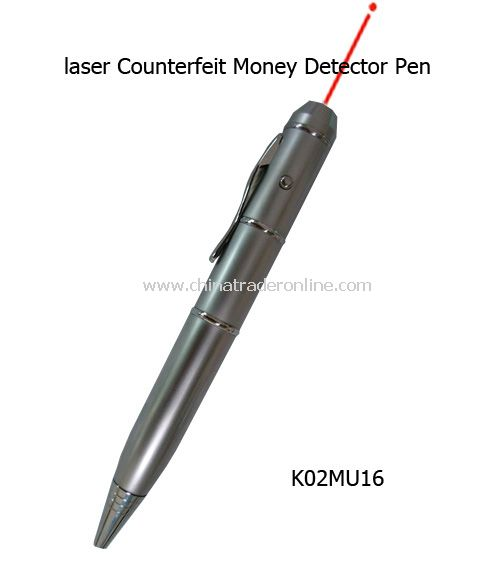 Laser Counterfeit Money Detector, Pendrive