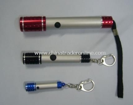 LED Torch Key Chain Money Detector