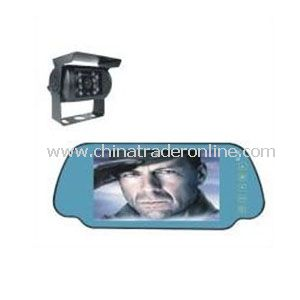 2.5 Inch Wired Video Car Rearview System