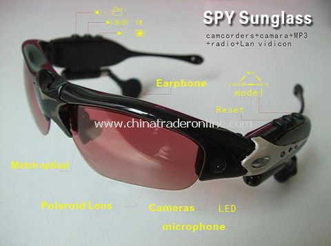5 in 1 Camera Sunglass MP3