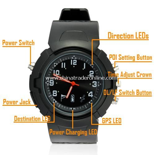 GPS Watch (Location Finder / Data Logger / Photo Tagger
