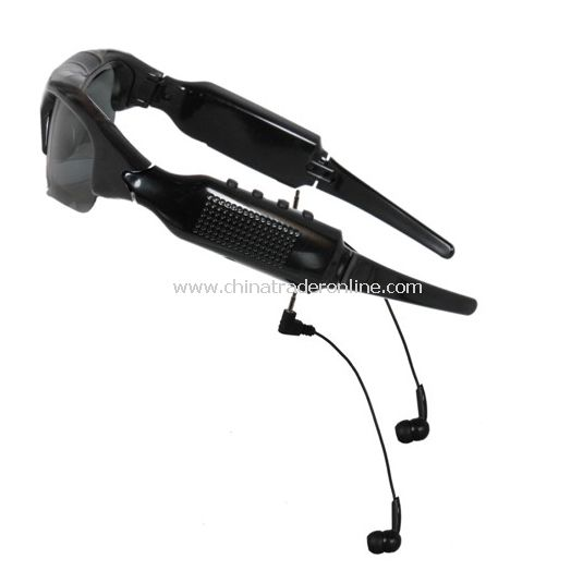Video Recording Camera Sunglass with MP3