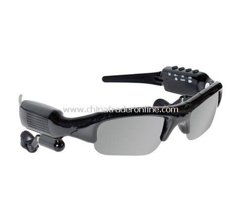 Video Recording Camera Sunglasses MP3 Player with FM