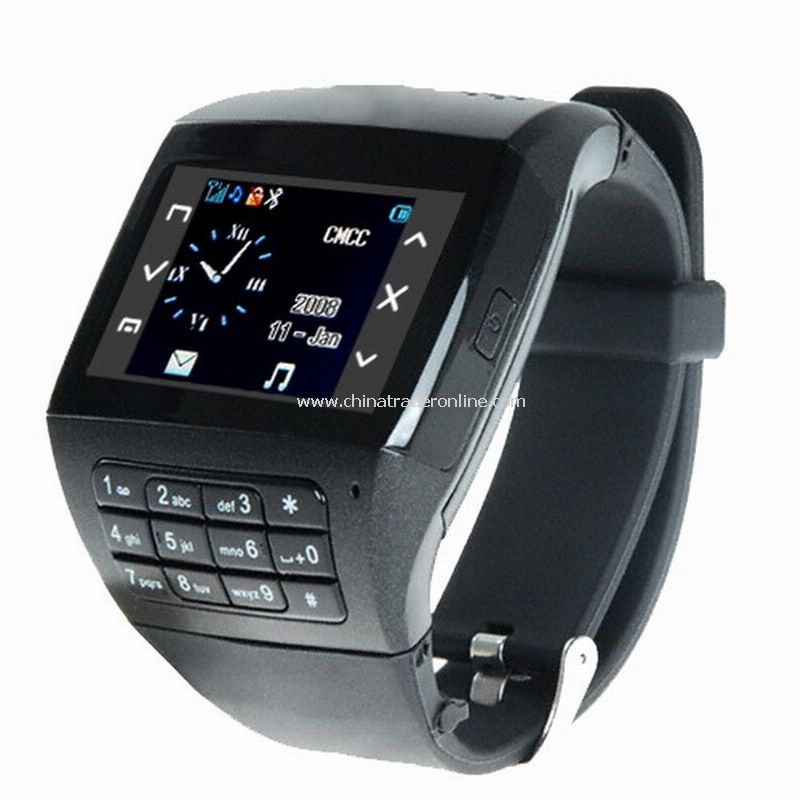 Watch Mobile Phone EG200 + FM + Quadband