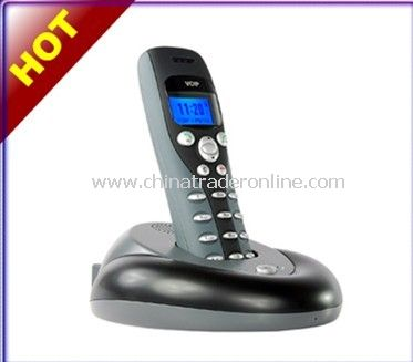 2-In-1 Skype VoIP USB Wireless + Normal Landline Phone