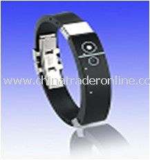 Cheap Silicon Bluetooth Bracelet, Bluetooth Wristband from China