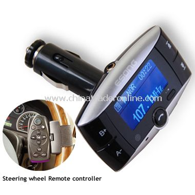 FM Transmitter With Bluetooth Function