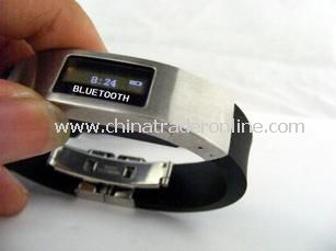 Silicon Bluetooth Bracelet With Display Callers ID