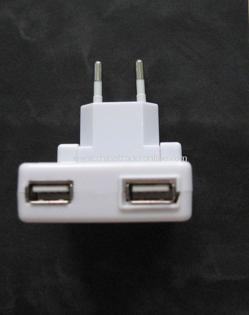 Dual USB Charger for Cell Phone