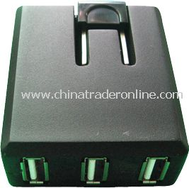 3 Port USB Charger from China