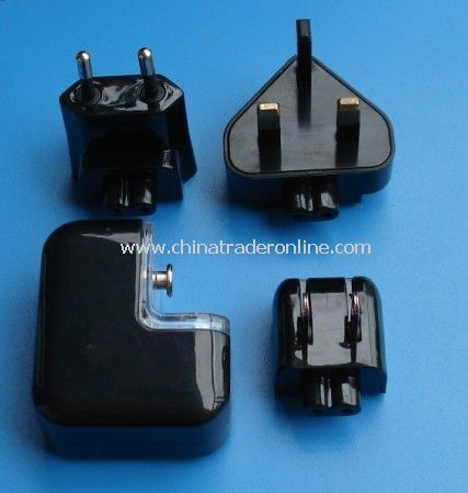 Interchangeable Plug USB Charger & Adapter