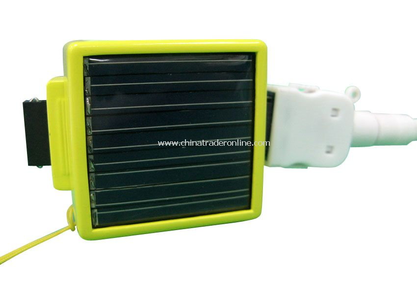 Solar Emergency Charger with PB03 Li-Batteries