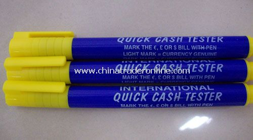 Counterfeit Bill Detector Pen