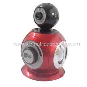 Mini Speaker with Webcamera