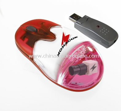 Wireless liquid optical mouse