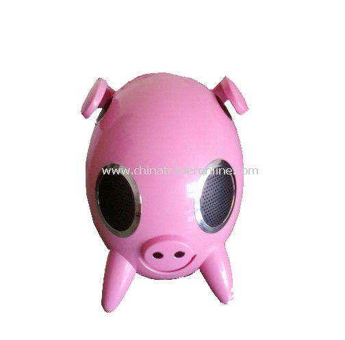 Mini Pig Speaker for iPod