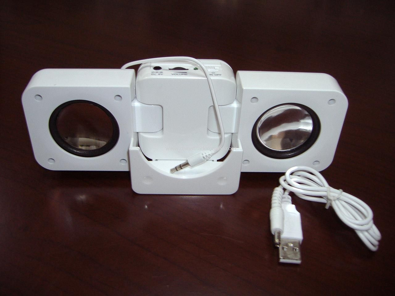 Mini speaker, portable speaker, with USB port