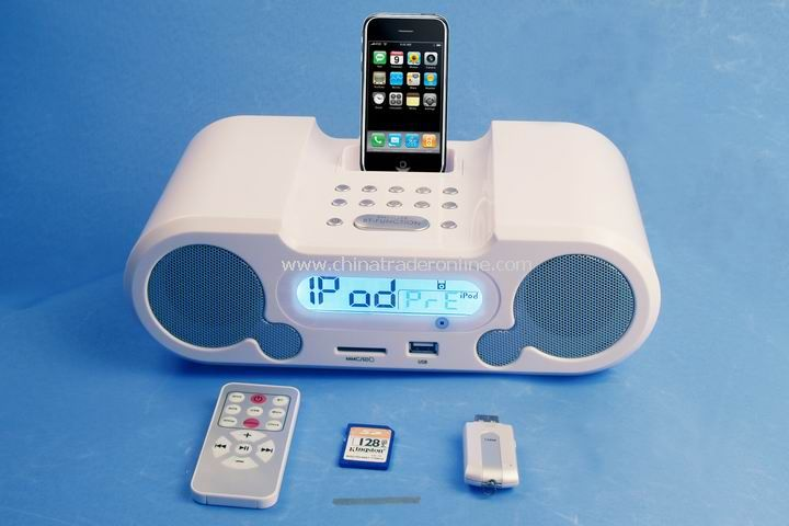 Mini Speaker For iPhone with 3GS snd iPod Docking Station