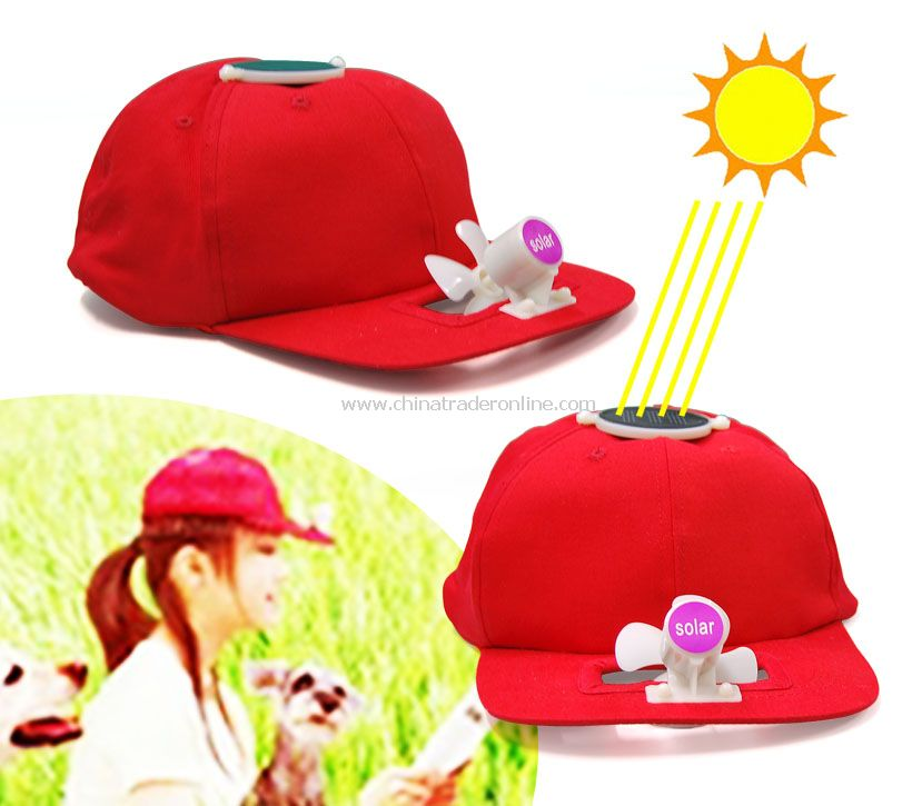 Solar Gift Cap&Leisure Cap&Promotional Cap from China