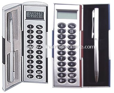 Magic Calculator Box Set With Metal Pen
