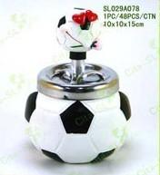 Polyresin Football Ashtray from China