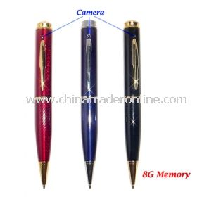 High Resolution 1280x960 Spy Pen Digital Video Recorder with 8G Memory Included