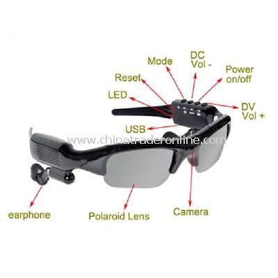 MP3,bluetooth,FM,take photo,video recorder sunglasses