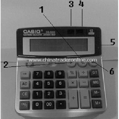 Calculator camera DVR
