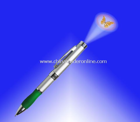 LED Logo Projector Ball Pen