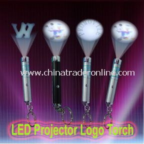 LED Projector Logo Torch with Super Bright LED