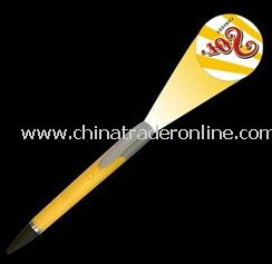 Logo projector pen with ABS from China