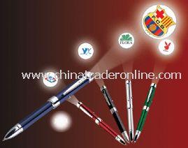 Metal material projector pen