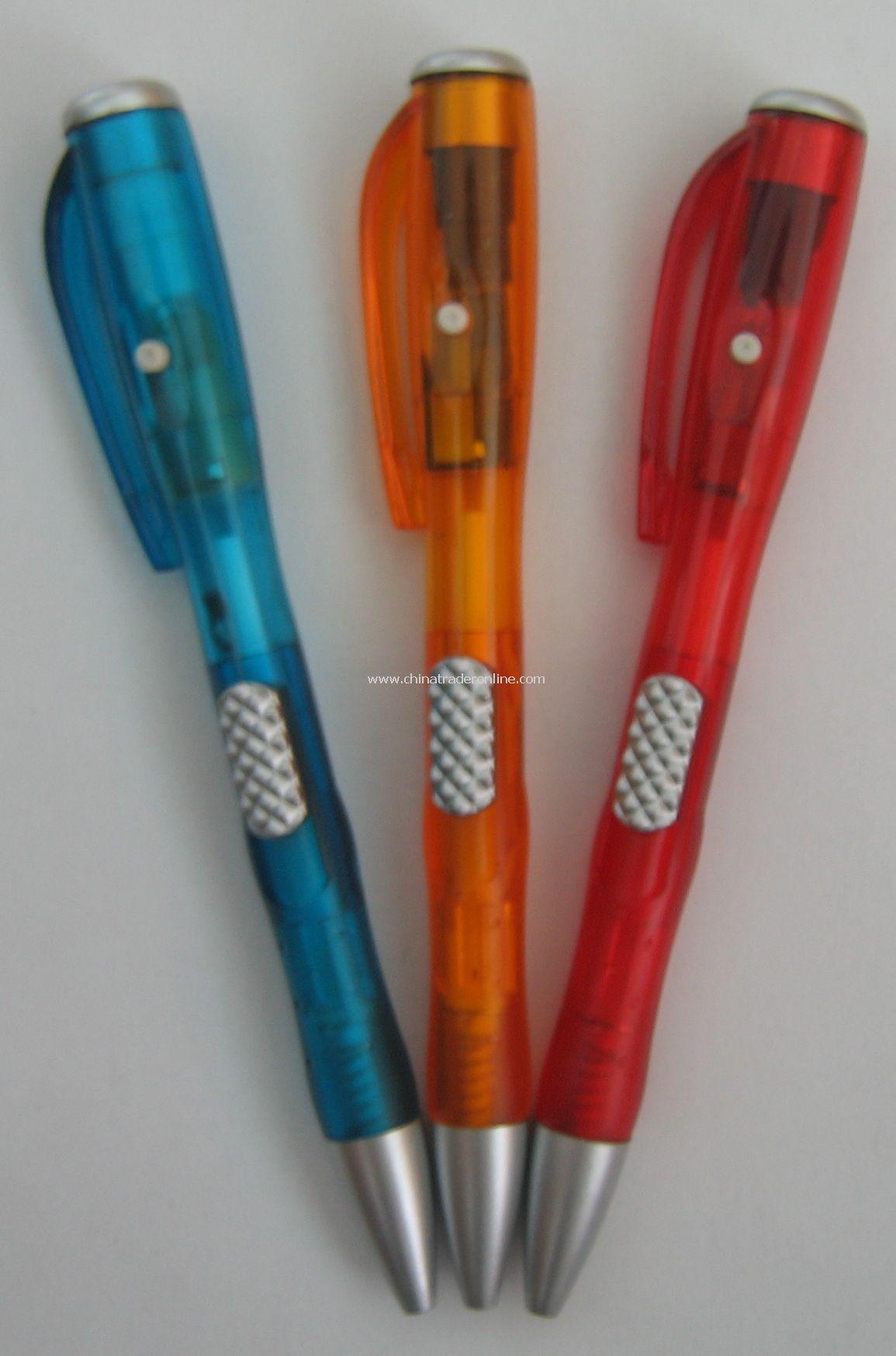 Plastic material projector pen