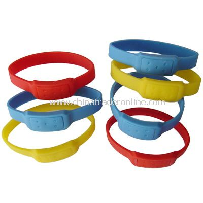 Silicone Mosquito Repellent Bracelet from China