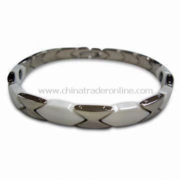 Titanium Bracelet with Ceramic from China