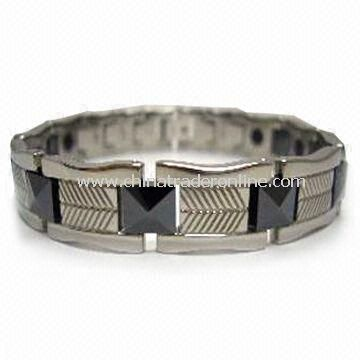 Titanium Bracelet with Ceramic